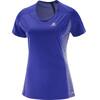 Salomon Agile SS Shirt Women spectrum blue